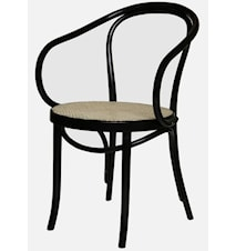 Thonet No 30 karmstol m. rottingsits