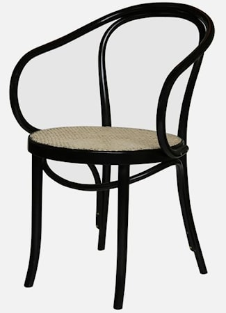 k p thonet no 30 karmstol m rottingsits. Black Bedroom Furniture Sets. Home Design Ideas