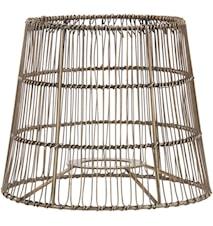 Mia Nordic Lampeskjerm Antikk messing 17 cm