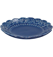Orient asiette blueberry