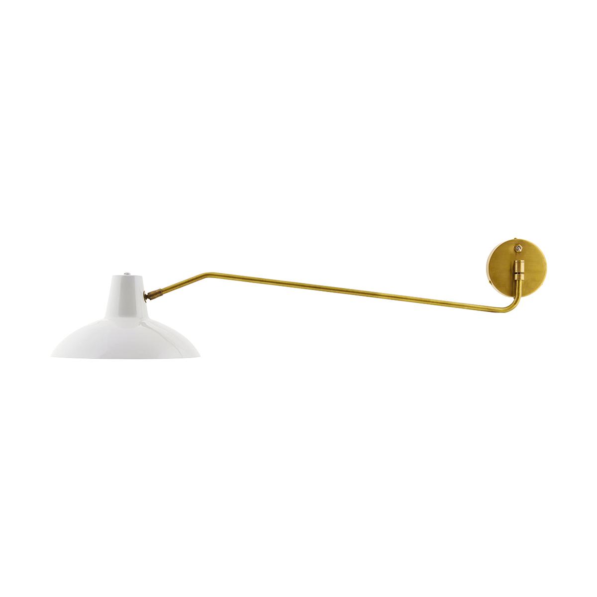 Desk Vägglampa Grå Matt 31 cm
