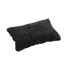 Pieces Kudde Small 30x50 cm - Black/Black