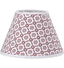 Royal Lampskärm Svea Röd 16cm