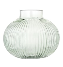 Vas Grön Glas 16 cm