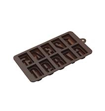 Chokoladeforme Tal Silikone