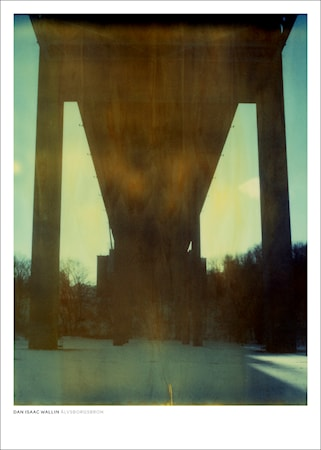 Bild av Dan Isaac Wallin Älvsborgsbron poster