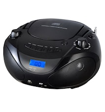 Champion Boombox CD/Radio/MP3/USB Black
