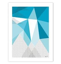 Bortom berg poster