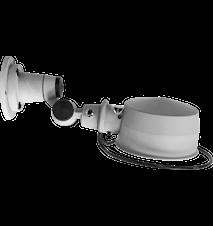 Lak L100 Vägglampa Ø15 cm Matt m. brytare