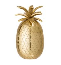 Isspand Ananas Ø 13 cm - Guld