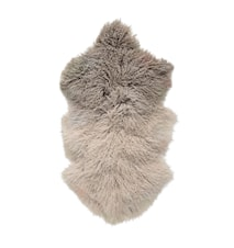 Fåreskind Brun Tibetanskt Lammeskind 90x50 cm