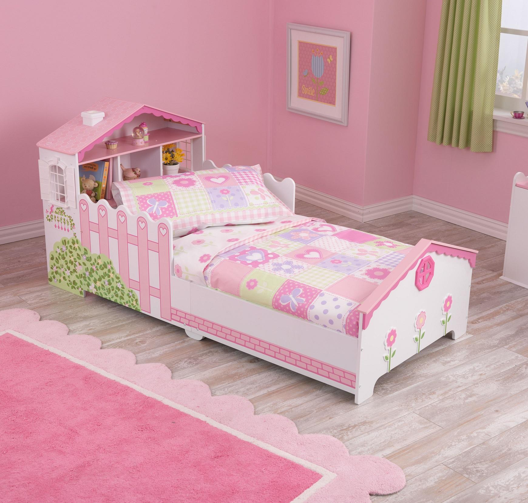 Dollhouse cottage barn sängkläder