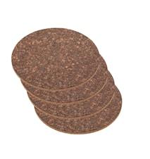 Grytunderlägg 4-pack 25x1 1 cm