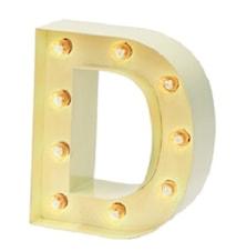Cirkuslampan liten - D