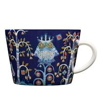 Taika Kahvi/cappuccinokuppi 20cl, Sininen