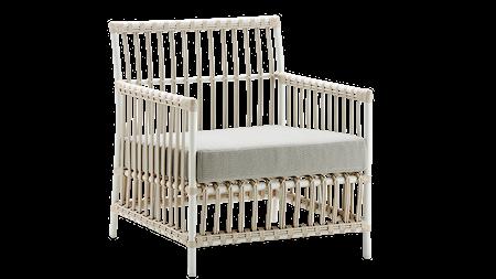 Caroline stol inklusive dyna Vit