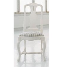 Barock klädd stol