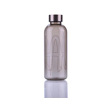 Raw Vandflaske 0,65 L - Lysegrå