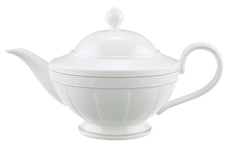 Villeroy & Boch Gray Pearl Teekannu 6 hlö 1,40l