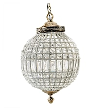 Crystal lamp taklampa - Medium