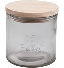 Trelokk til glassboks d10 cm