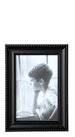 Bild av KJ Collection Tavelram Glas/Svart 10x15 cm