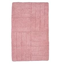 Baderomsmatte Rosa 80x50 cm