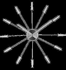 Plug in Silver 59 cm