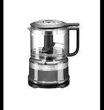 Mini Foodprocessor 0,95 liter Contour Sølv