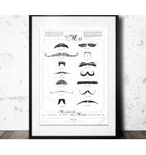 mustasch affish poster