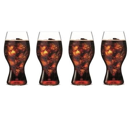 Coca Cola-Glas 4-pakk