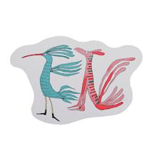 Fuglene fortæller Skærebræt 41x27,5