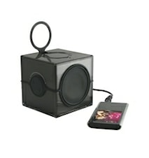 Cube Baderomsradio Svart