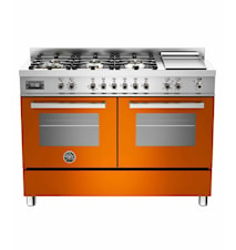 Proffessional Gasspis 120 cm + Elektrisk Tepanyaki Orange