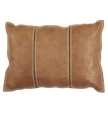 Pure leather Kuddfodral 35x50 - Ljus brun
