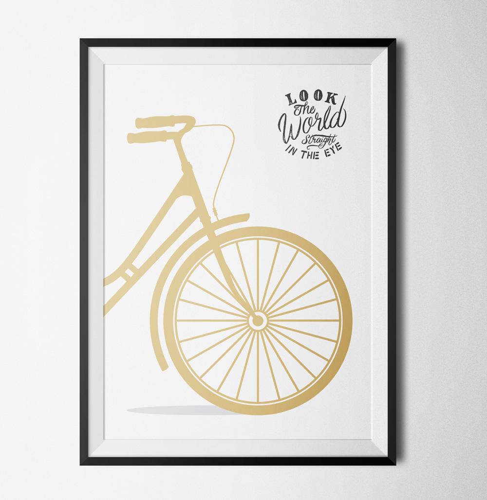 Bike poster - 40x60