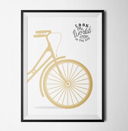 Bild av Konstgaraget Bike poster