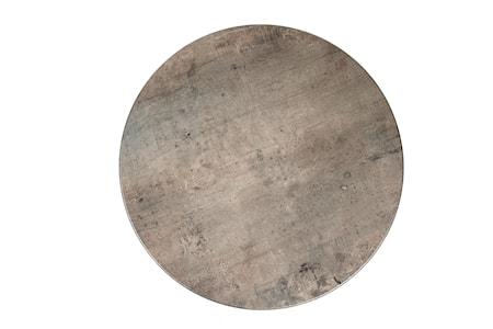 Bordsskiva Topalit Ø 60cm Concrete