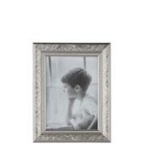 Tavelram Glas/Silver 18x13 cm