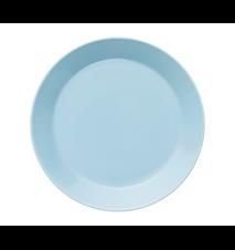 Teema tallrik 21 cm ljusblå
