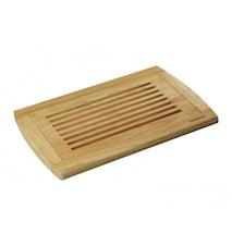 Skärbräda bröd 42x28cm rubberwood