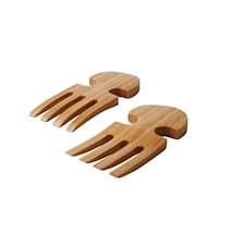 Salladsbestick 2 delar Bambu 18 cm