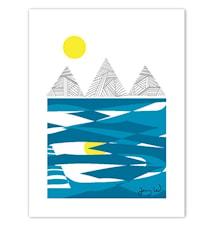 Berg og hav poster