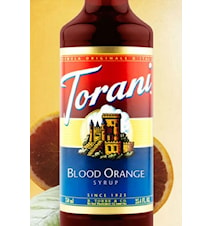 Blood Orange Syrup 750 ml -