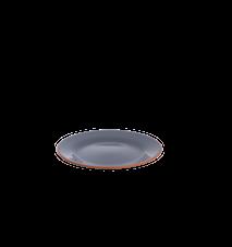 Assiett d21,5 cm, grå