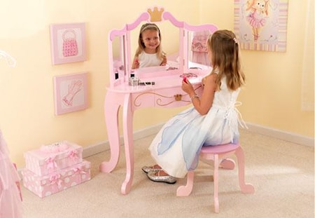 Kidkraft Princess Pöytä & Tuoli
