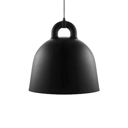 Normann Copenhagen Bell Lampa Svart L