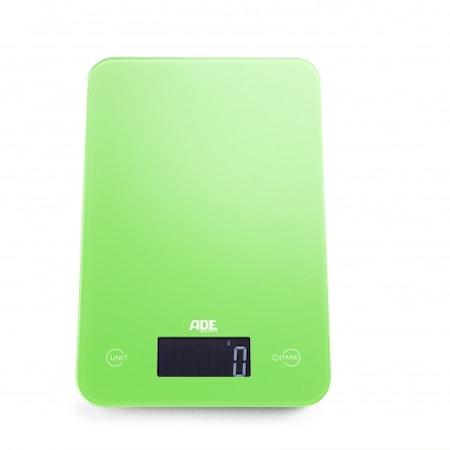 Slim Grön Digital Köksvåg