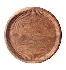 Skärbräda Acacia Ø25 cm