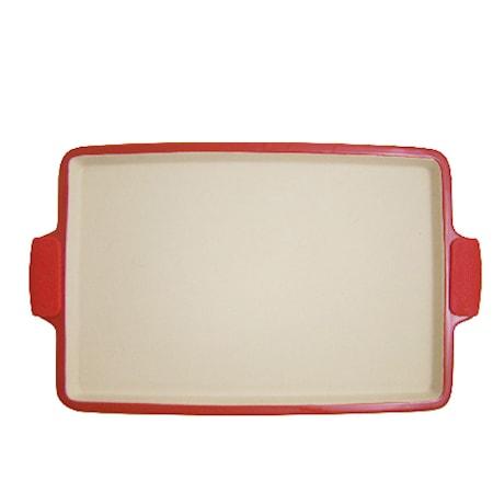 Rektangulär Pizzasten med silikonhandtag
